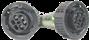 Łącznik w pancerzu 4 pin płaskie